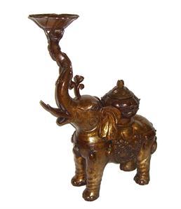 CLICCA PER MAGGIORI DETTAGLI / Elefante in bronzo